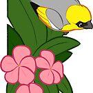 Hawaiian birds 1 - Palila by HenriekeG