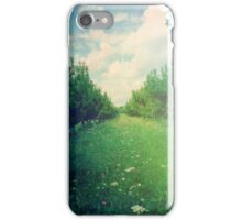 Apple Orchard in Spring iPhone Case/Skin