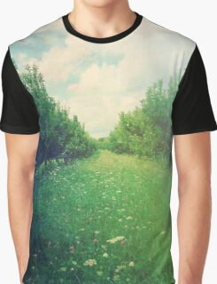 Apple Orchard in Spring Graphic T-Shirt