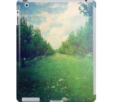Apple Orchard in Spring iPad Case/Skin