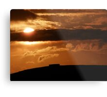 Grianian of Aileach Sunset ,Donegal, Ireland  Metal Print