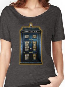 Police Box Doctor Who Women's Relaxed Fit T-Shirt