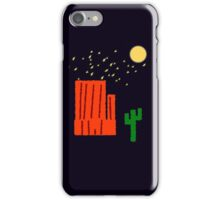 The Desert At Night iPhone Case/Skin