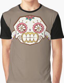 Geodude Pokemuerto   Pokemon & Day of The Dead Mashup Graphic T-Shirt