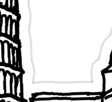 Pisa Italy Sticker