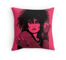 Siouxsie Sioux Throw Pillow