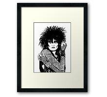 Siouxsie Sioux Framed Print