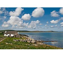 North Uist: Stonehouse Photographic Print