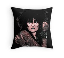 Siouxsie Sioux 2 Throw Pillow