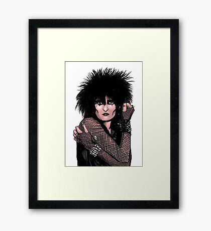 Siouxsie Sioux 2 Framed Print