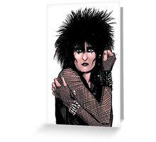 Siouxsie Sioux 2 Greeting Card