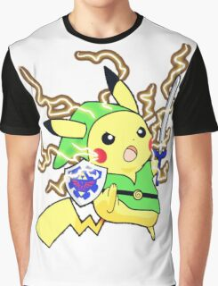 Pokemon Zelda Graphic T-Shirt