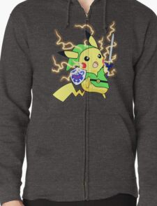 Pokemon Zelda Zipped Hoodie