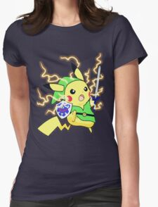 Pokemon Zelda Womens Fitted T-Shirt
