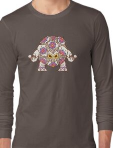 Golem Pokemuerto | Pokemon & Day of The Dead Mashup Long Sleeve T-Shirt