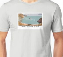 Man 'O' War Cove (Railway Poster) Unisex T-Shirt