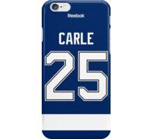 Tampa Bay Lightning Matthew Carle Jersey Back Phone Case iPhone Case/Skin