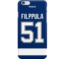 Tampa Bay Lightning Valtteri Filppula Jersey Back Phone Case iPhone Case/Skin