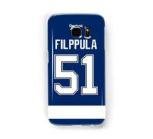 Tampa Bay Lightning Valtteri Filppula Jersey Back Phone Case Samsung Galaxy Case/Skin