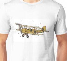 Tiger Moth Aeroplane Unisex T-Shirt