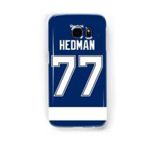 Tampa Bay Lightning Victor Hedman Jersey Back Phone Case Samsung Galaxy Case/Skin