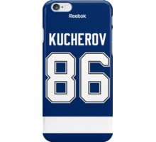 Tampa Bay Lightning Nikita Kucherov Jersey Back Phone Case iPhone Case/Skin