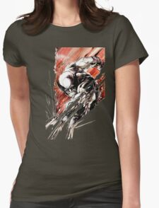 Wolverine Slash Womens Fitted T-Shirt