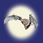 Moon Bat by pinkyjainpan