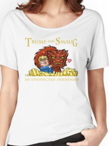 Trump and Smaug: An Unexpected Friendship Women's Relaxed Fit T-Shirt