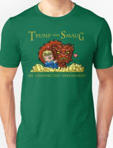Trump and Smaug: An Unexpected Friendship Unisex T-Shirt