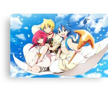 Magi - Magic Epic Magi Metal Print