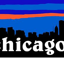Chicago Illinois. USA US Cities collection by mustbtheweather