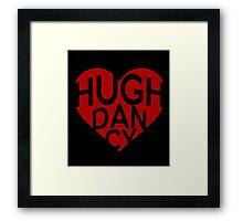 Valentine - Hugh Dancy Framed Print