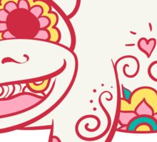 Slowpoke Pokemuerto | Pokemon & Day of The Dead Mashup Sticker