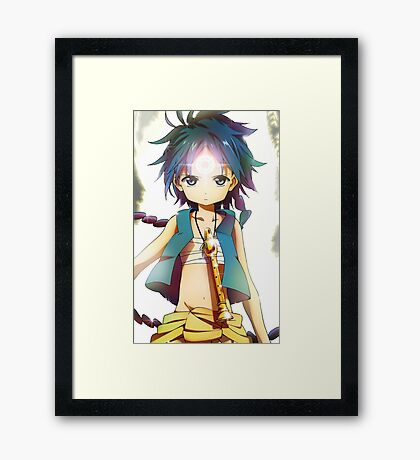 Magi - Magic Epic aladdin Framed Print