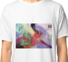 RED, abstract expressionism Classic T-Shirt