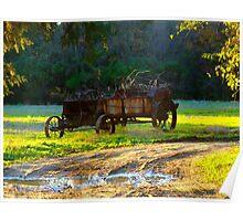 Berkeley Plantation~Cart Poster