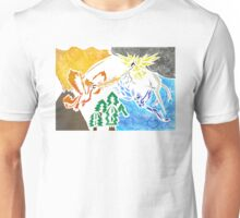 pokemon - legendary bird trio Unisex T-Shirt