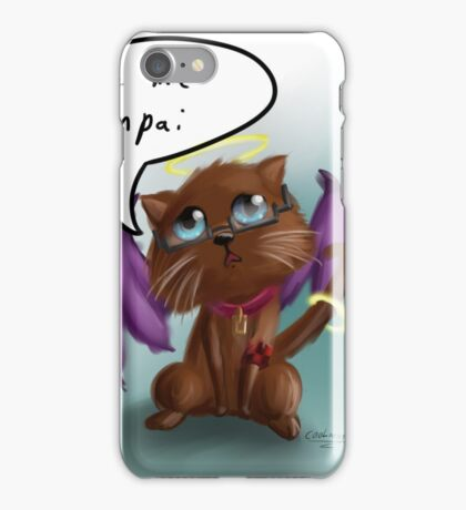Longing Cat  iPhone Case/Skin