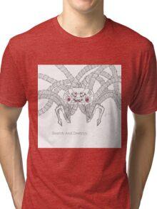 Matrix Search And Destroy (ink Sentinel) Tri-blend T-Shirt