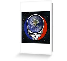 Earth Stealie Greeting Card
