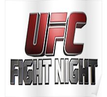 UFC (Ultimate Fighting Championship) Poster