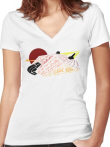 Asp Explorer Voyage Voyage Women's Fitted V-Neck T-Shirt