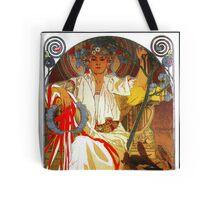 Alfons Mucha Spring festival Art Nouveau Tote Bag