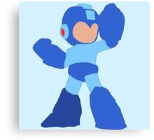 Simple Mega Man Canvas Print