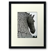 The Kelpies (2) Framed Print