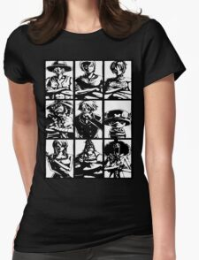 Straw Hat Clan Womens Fitted T-Shirt