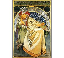 Alfons Mucha Princess Hyacinth Photographic Print
