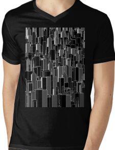 Tall city B&W inverted Mens V-Neck T-Shirt