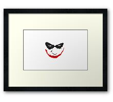 Joker Goodie's Framed Print